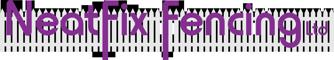 NeatFix Fencing Logo